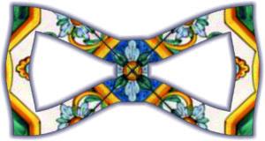 Papillon stampato